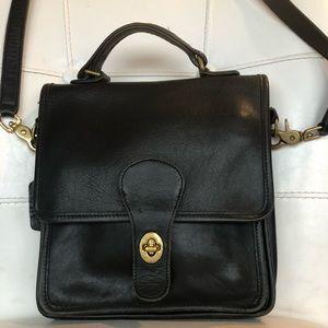Coach vintage black purse